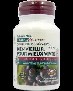 Nature's Plus Resveratrol 60 comprimés