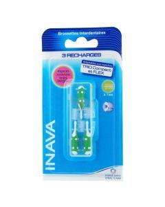 Inava Brossettes recharges vert x3 (1,8mm - ISO 5)