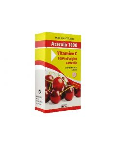 Ineldea Acérola 1000 Vitamine C 24 Comprimés