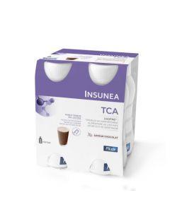Pileje Insunea TCA Boisson saveur Chocolat 4 bouteilles de 200 ml