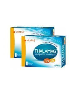 Thalamag Fer B9 Magnésium Marin Lot de 2x30 Gélules