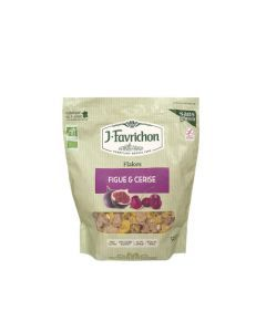 Favrichon Flakes Figue & Cerise Sachet refermable 325g