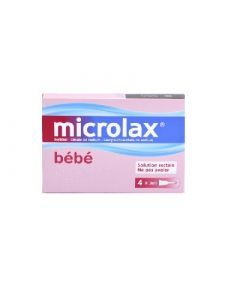 Microlax bébé 4 pipettes de 3ml