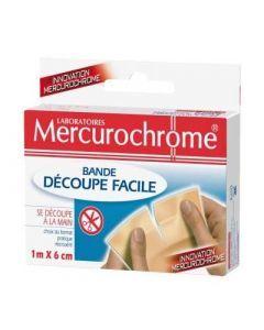 Mercurochrome Bande Découpe Facile 1m X 6cm