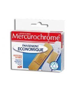 Mercurochrome Pansements Économique 20 Unités