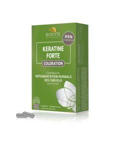 Biocyte Kératine Forte Coloration 60 gélules