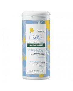 Klorane Bébé Poudre de Toilette Protectrice 100gr