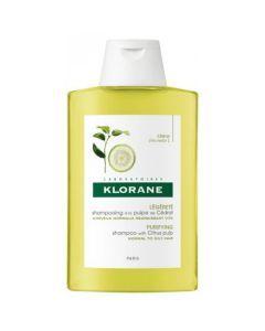 Klorane Capillaire Shampooing à la pulpe de Cédrat 100ml