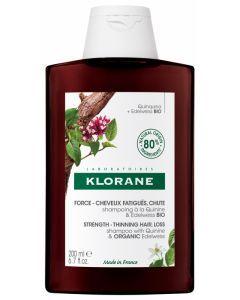Klorane Force Cheveux Fatigués & Chute Shampoing à la Quinine et Edelweiss 200 ml
