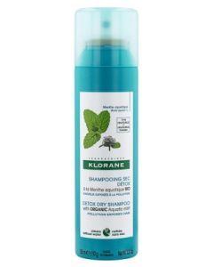 Klorane Shampoing Sec Détox à la Menthe Aquatique 150 ml