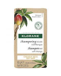 Klorane Shampoing Solide Mangue 80g