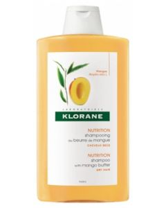 Klorane Capillaire Shampooing au Beurre de Mangue 400ml