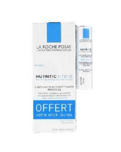 La Roche-Posay Nutritic Intense Riche Tube 50ml + Stick Lèvres Offert