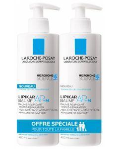 La Roche-Posay Lipikar AP+M Baume Relipidant 2x400ml
