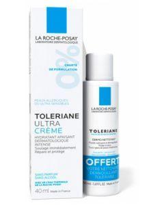 La Roche-Posay Tolériane Ultra Crème 40ml + Tolériane Fluide Dermo-Nettoyant 50ml