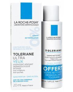 La Roche-Posay Tolériane Ultra Yeux + Fluide Dermo-nettoyant 20ml