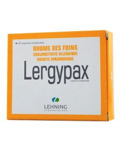 Lergypax comprimé orodispersible