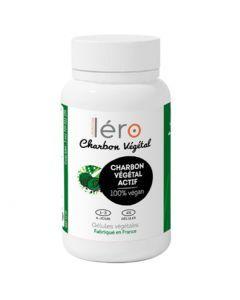 Léro Charbon Végétal Actif 45 gélules