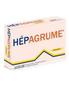 Léro Hepagrume Solution Buvable 18 Ampoules