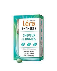 Lero Phanères Cheveux et Ongles 30 Capsules