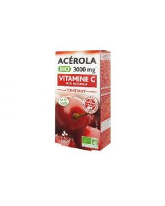 3 Chênes Bio Acerola Bio 3000 Mg 21 Comprimés