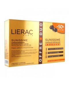 Lierac Sunissime 30 Capsules Bronzage Lot de 2x30 Capsules