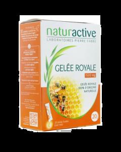 Naturactive Phytothérapie Gelée Royale 1500mg 20 Sticks de 10ml