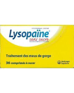 Lysopaïne maux de gorge comprimé à sucer