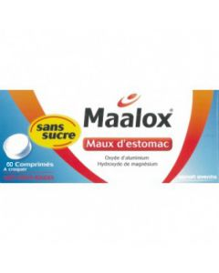 Maalox maux d'estomac sans sucre