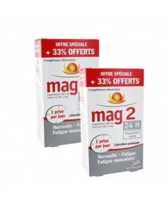 MAG 2 24h - 45+15 comprimés Lot de 2