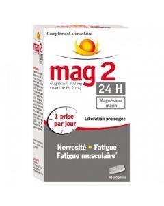 MAG 2 24h Magnésium Marin 45 Comprimés