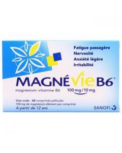 Magnévie B6 100mg/10mg, comprimé pelliculé