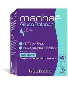 Manhaé Gluco Balance 30+ Perte de Poids 20 Sachets