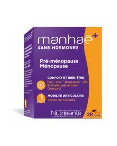 Manhaé+ Curcuma Sans Hormone 60 Capsules