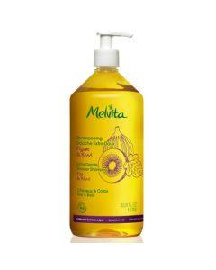 Melvita Shampooing Douche Extra Doux 1L