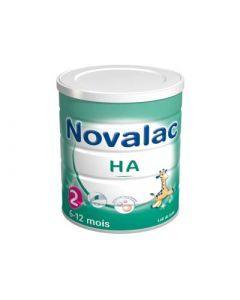 Novalac Lait HA 2ème Âge Hypoallergénique 800g