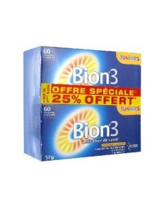 Bion 3 Juniors Lot de 2 X 60 Comprimés