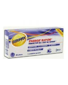 Gerimax Energie Rapide 20 Comprimes