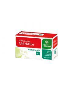 Médiflor Tisanes Thérapeutiques Médiflor N°8 Réspiratoire X 24 Sachets
