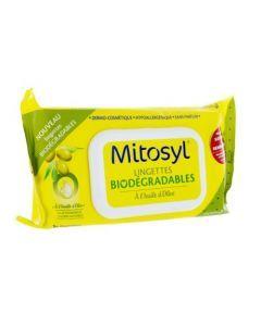 Mitosyl Lingettes Biodégradables Huiles d'Olive 70 Lingettes