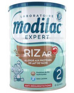 Modilac Expert Riz AR 2ème Âge 6-12 Mois 800 g