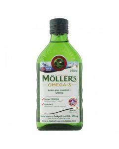 Möller's Oméga 3 Acide Gras Essentiels 1200mg -  250ml