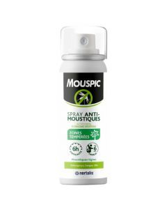 Mouspic Spray Zones Tempérées Végétal 100ml