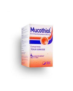 Mucothiol 200mg Boite de 20 comprimés