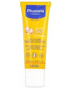 Mustela Lait Solaire très haute protection SPF 50+ 40ml