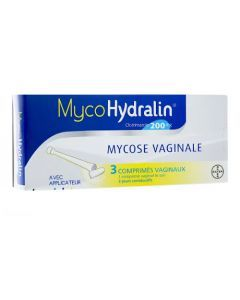 Mycohydralin comprimé vaginal 200 mg
