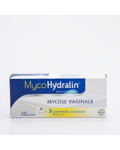 Mycohydralin comprimé vaginal 200mg