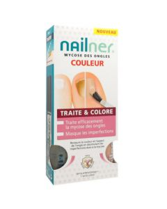 Nailner Traite & Colore 2x5ml