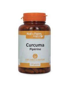 Nat&Form Original Curcuma Pipérine 200 gélules