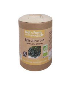 Nat&From Ecoresponsable Spiruline Bio 90 comprimés